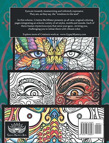 Windows To The Soul: A Mesmerizing Coloring Book