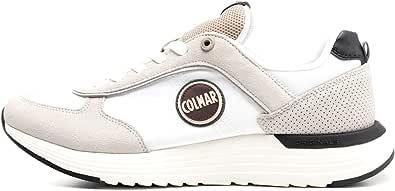 Colmar Scarpe da Uomo Sneaker Travis in Tessuto Bianco X-TONES-012