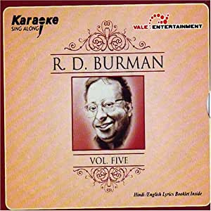 Karaoke Sing Along-R.D Burman Vol-5 (Indian Musical/ Indian Classical/ Legend/ Hindi Music/ Audio CD