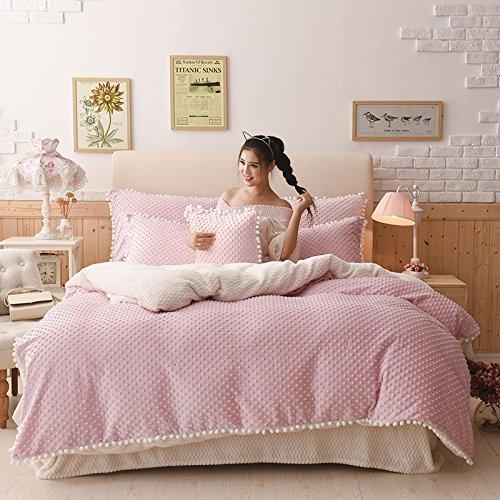 processo di modellazione Fa sentire raffinato velluto principessa bambino assestamento una famiglia di quattro size 1.5-1.8m , pink ,