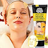 Blackhead Remover Mask -MS.DEAR- Maschera Peel Off Maschera Cura Facciale Cura per Viso Imbianca anti-invecchiamento Rughe Vitamina E Idratante Acido Ialuronico e Collagene