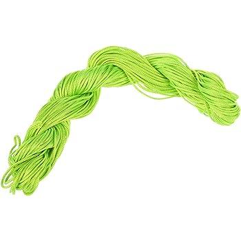Nylon cord Black 25 Metres Wire Nylon Cord 1mm jewelry Shamballa Tibetan bracelet R SODIAL