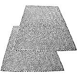 Spares2go grande aluminio malla filtro para Teka campana extractora/extractor ventilación (Pack de 2filtros, 89x 48cm)