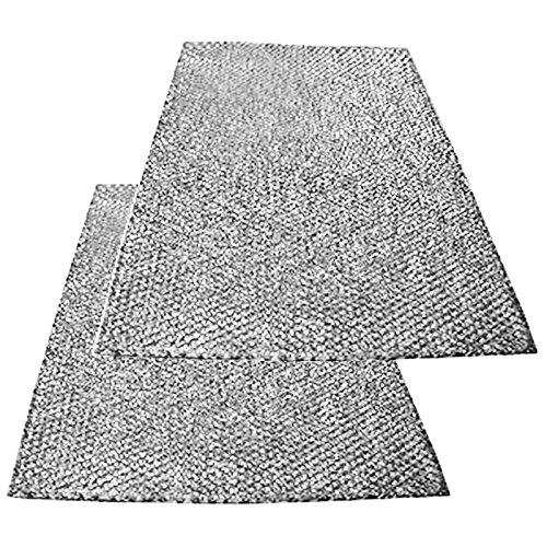 Spares2go grande aluminio malla filtro para Ariston Cocina Campana/ventilador Extractor ventilación (Pack...