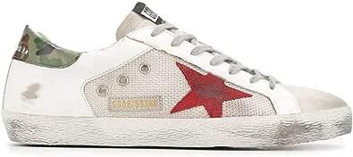 Golden Goose Luxury Fashion Uomo G36MS590U62 Bianco Pelle Sneakers | Primavera-Estate 21