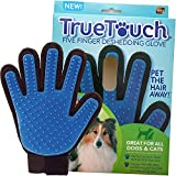 #8: Deshedding Glove Brush for Dog and Cat, True Touch, Professional Pets Grooming Tools, Long or Short Hair Remover, Dogs, Cats, Horses, Bunnies, Pet Massage, Bathing, Brushing, Greate Pet Gift (Aithentic)