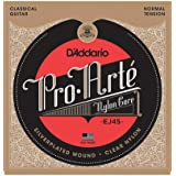 D'Addario Pro-Arte EJ45 Cordes en nylon pour guitare classique Normale