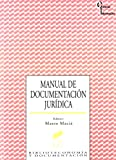 Manual de documentación jurídica (Ciencias de la información)