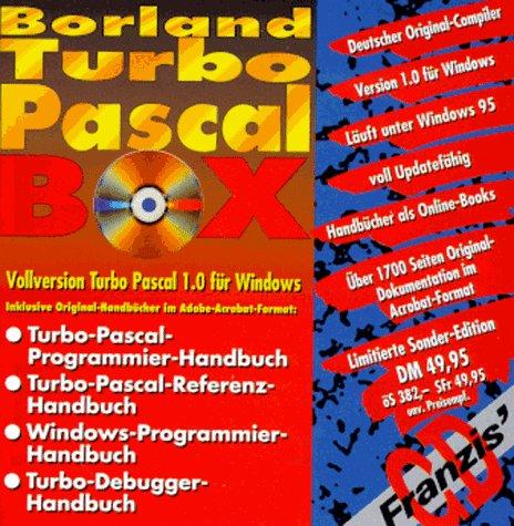 Borland, Turbo-Pascal Box WIN 1.0