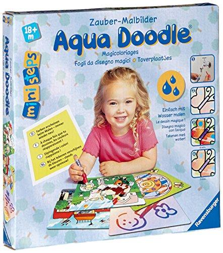 Ravensburger ministeps 04598 - Aqua Doodle Zauber-Malbilder (Bilder Aqua)