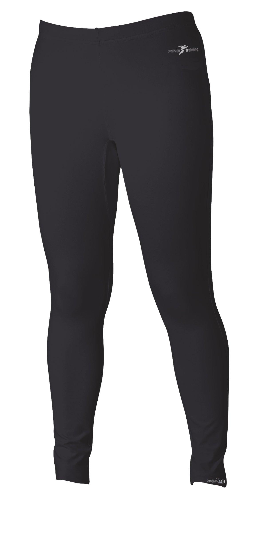Precision - Leggings primo strato, colore nero, taglia XS (28-30 Inch)