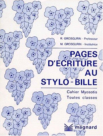 Cahier Plume : Myosotis toutes classes