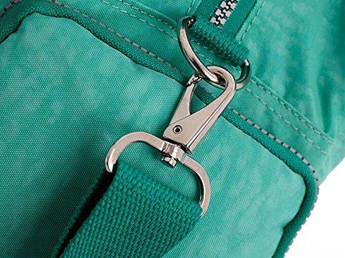 Fansela(TM) Unisexe Loisirs Sac à Main / Sacs à bandoulière en Nylon Vert