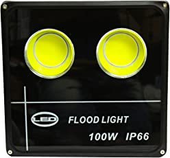 Ultra Slim 100W LED Flood Light FOCUS PURE COOL WHITE AC outdoor Waterproof IP65