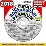 Ultimate Boot & Repair PREMIUM |CD/DVD| Windows 10 ® Windows 8 | 7 | Vista | XP (32 & 64Bit)