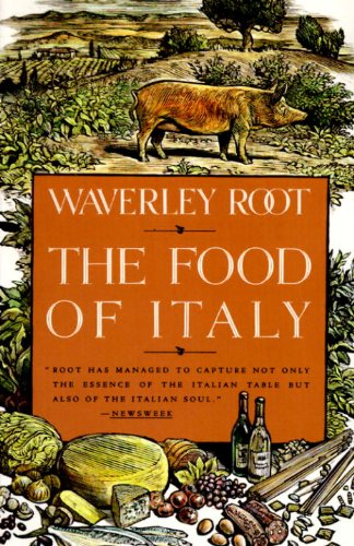 The Food of Italy (Vintage)