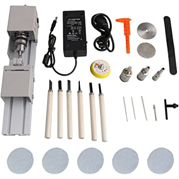 36.8x20mm Lathe Center Woodworking DIY Beads Machine Rotary Drill Bit