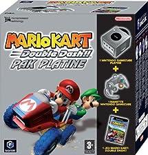Pack Console Gamecube Platine + Mario Kart Double Dash