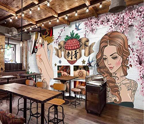 d Wallpaper Tattoo dekorative Malerei 3d Wallpaper @ 300 * 210cm ()
