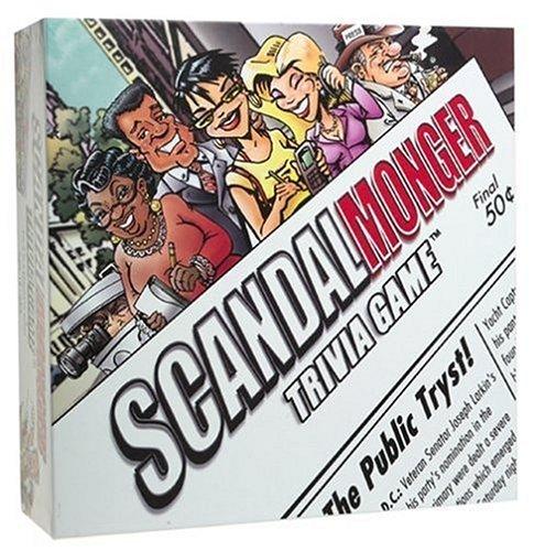 Preisvergleich Produktbild Scandal Monger Trivia Game
