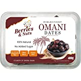 Berries And Nuts Premium Jumbo Oman Dates | Hand Picked Omani Dates | 400 Grams + 100 Grams