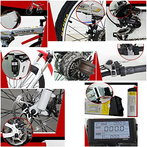 614Ei8iPc1L. SS500  - GTYW, Electric, Folding, Bicycle, Mountain, Bicycle, Moped, Electric Car, Battery Life 30KM