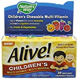 Natures Way Multivitamin Alive Children's Chewable Oad - Best Reviews Guide