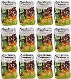 12er Pack Gekochte Maronen - Edelkastanien 12 X 400 Gramm, geschält