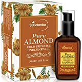 #7: StBotanica Sweet Almond Pure Coldpressed Oil, 50ml (For Hair & Skin)