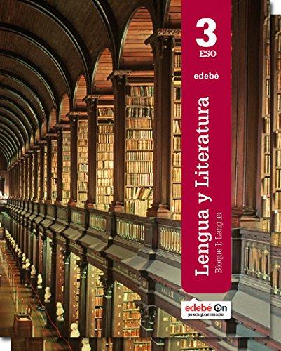 Lengua y literatura, 3 ESO por Obra Colectiva Edebé