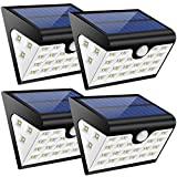 Best Los paquetes de baterías GRDE® - Lamparas Solares GRDE 28 LED Ultra Brillante Luz Review
