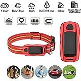 Hangang GPS Tracker pour Gros Chiens et Chat,Collier GPS Chiens étanche,Suivi d'activité pour Moyen et Grand Animal de…