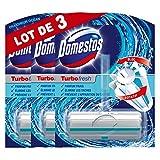 Domestos Bloc Wc Nettoyant Turbo Fresh Fraîcheur Océan (Lot de 3 Blocs WC)
