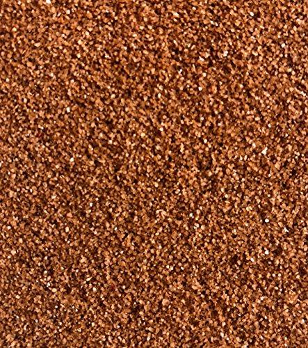 Rhinestone Paradise Dekosand Kupfer Braun 600g Quarzsand Deko Sand Streusand Streudeko Brauner Sand Streusand Tischdeko Dekorationssand