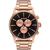 NIXON Sentry Chrono -Spring 2017- All Rose Gold/Black