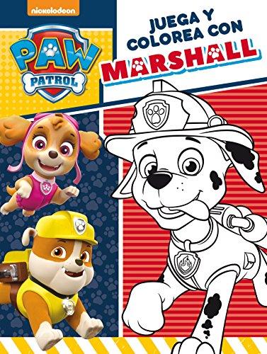 Juega y colorea con Marshall (Paw Patrol - Patrulla Canina. Actividades)
