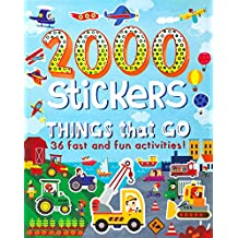 2000 Stickers Things That Go: 36 Fast and Fun Activities!