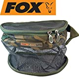 Fox Camolite Boilie Bum Bag Large - Ködertasche für Boilies & Pellets, Boilietasche zum...