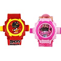 Avenger & Spiderman Style Digital Projector Watch for Kids with 24 Images Each, Diwali/Birthday Return Gift for Children…