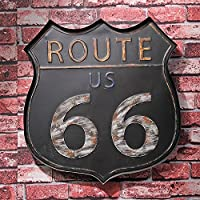 US Route 66 Ferro battuto Decorazioni per