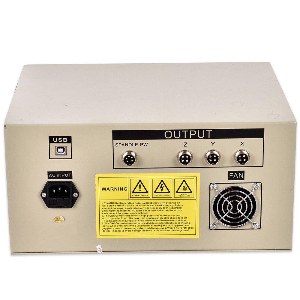 OBLLER USB 6040 Engraving CNC 3 Achse Graviermaschine Graviergerät Fräsmaschine Router
