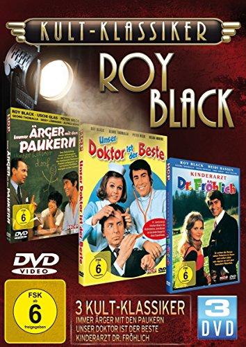 Kultklassiker mit Roy Black (3DVDs: Immer Ärger mit den Paukern, Unser Doktor ist der Beste, Kinderarzt Dr. Fröhlich)
