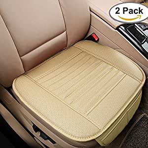 car seat cushion 2pc breathable car interior seat cover cushion pad mat for auto supplies. Black Bedroom Furniture Sets. Home Design Ideas