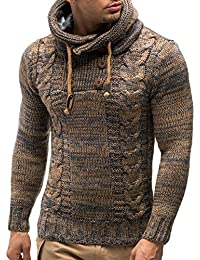 LEIF NELSON Men's Knitted Pullover 20227