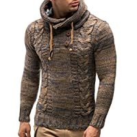 Leif Nelson Men's Pullover Knit Sweater LN-20227 1