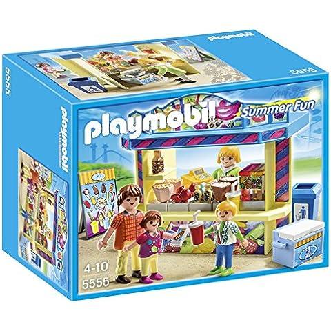 Playmobil Parque de Atracciones - Puesto de chucherías, playset (5555)