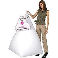 Casa Copenhagen Premium 1 Kg Bean Bag Refill/Filler - gamo (1 kg Beans - 700 Grams net Weight as per Indian Standards)