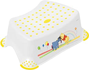 OKT Step Stool - Winnie The Pooh and Friends (White)