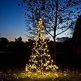 Fairybell LED-Weihnachtsbaum 300 cm mit 360 LED warmweiss