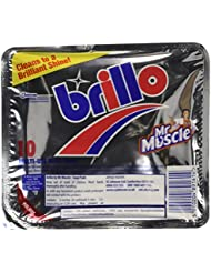 Mr Muscle Brillo 10 Multi-Use Soap Pads